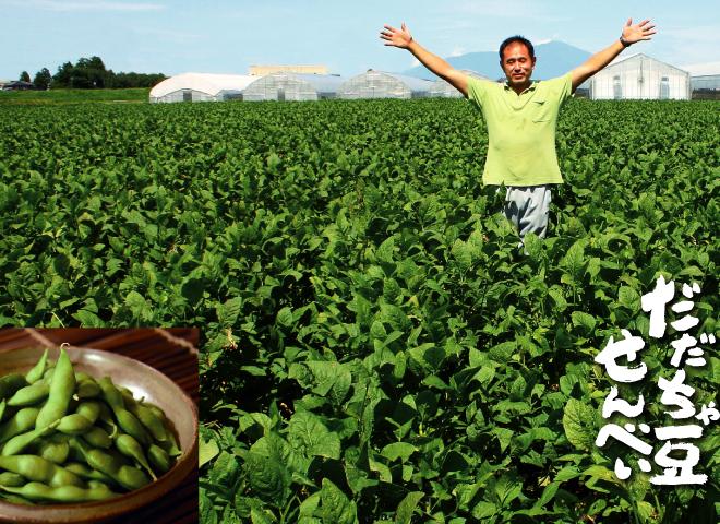 山形県の限られた地域でしか栽培できない幻の枝豆だだちゃ豆