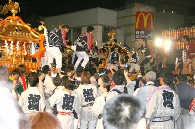 江戸前神輿の競演