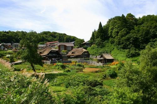 田麦俣の旧遠藤家
